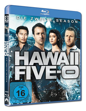 Hawaii Five-0: Staffel 2 Box Blu-ray (5 Discs)
