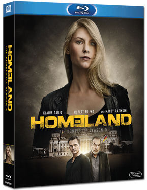 Homeland: Staffel 5 Blu-ray (3 Discs)