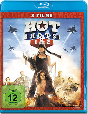 Hot Shots! 1+2 Blu-ray (2 Discs)