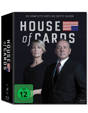 House of Cards: Staffel 1-3 Box Blu-ray (12 Discs)