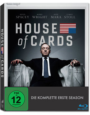 House of Cards: Staffel 1 Box Blu-ray (4 Discs)