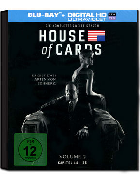 House of Cards: Staffel 2 Box Blu-ray (4 Discs)