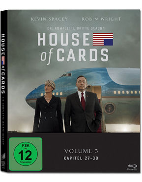 House of Cards: Staffel 3 Box Blu-ray (4 Discs)