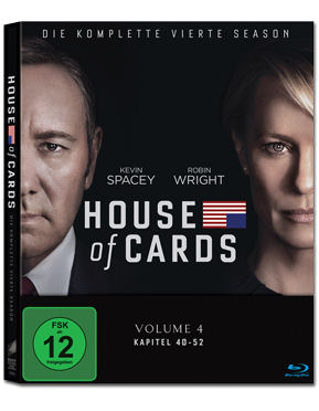 House of Cards: Staffel 4 Box Blu-ray (4 Discs)