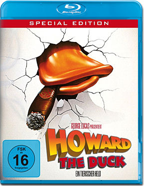 Howard the Duck: Ein tierischer Held - Special Edition Blu-ray