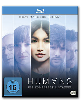 Humans: Staffel 1 Blu-ray (2 Discs)