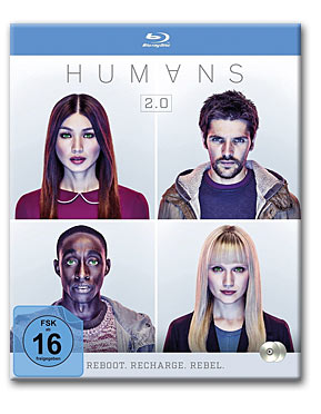 Humans: Staffel 2 Blu-ray (2 Discs)
