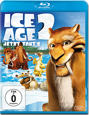 Ice Age 2: Jetzt taut's Blu-ray