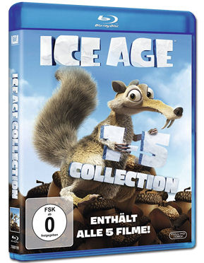 Ice Age - 1-5 Collection Blu-ray (5 Discs)