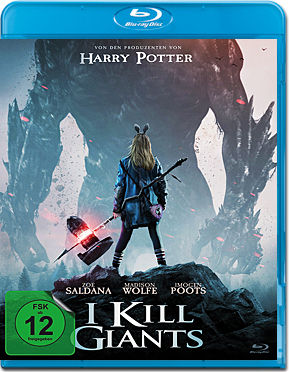 I Kill Giants Blu-ray