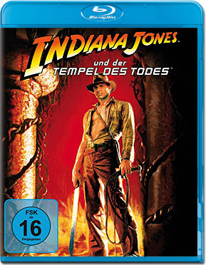 Indiana Jones 2: Tempel des Todes Blu-ray