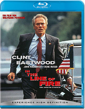 In the Line of Fire Blu-ray