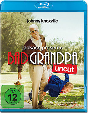 Jackass Presents: Bad Grandpa Blu-ray