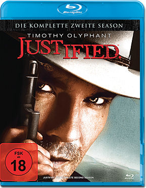 Justified: Season 2 Box Blu-ray (3 Discs)