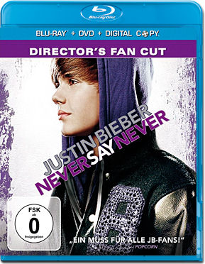 Justin Bieber: Never Say Never - Director's Fan Cut Blu-ray