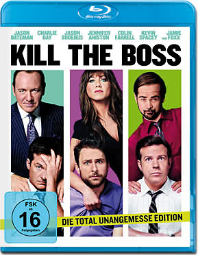 Kill the Boss 1 Blu-ray