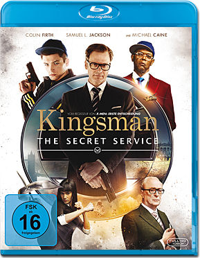 Kingsman: The Secret Service Blu-ray