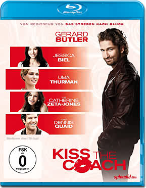 Kiss the Coach Blu-ray