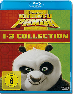 Kung Fu Panda - 1-3 Collection Blu-ray (3 Discs)