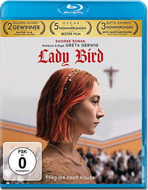Lady Bird Blu-ray