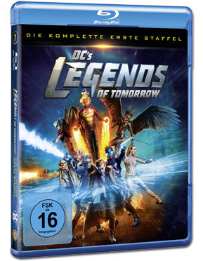 Legends of Tomorrow: Staffel 1 Box Blu-ray (3 Discs)
