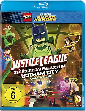 LEGO Justice League - Gefängnisausbruch in Gotham City Blu-ray