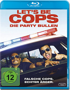Let's be Cops: Die Party Bullen Blu-ray