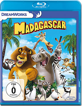 madagascar 1 blu ray blu ray filme world of games. Black Bedroom Furniture Sets. Home Design Ideas