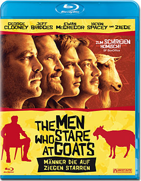 The Men who Stare at Goats - Männer die auf Ziegen starren Blu-ray