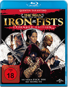 The Man with the Iron Fists - Extended Edition Blu-ray