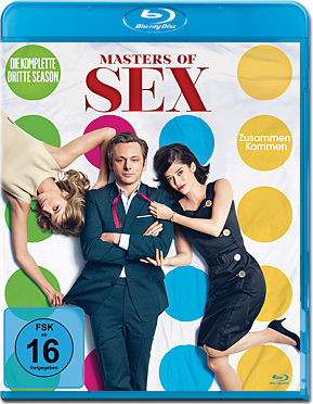 Masters of Sex: Staffel 3 Box Blu-ray (4 Discs)