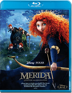Merida: Legende der Highlands Blu-ray
