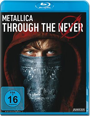 Metallica: Through the Never Blu-ray