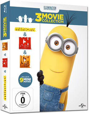 Minions - 3-Movie Collection Blu-ray (3 Discs)