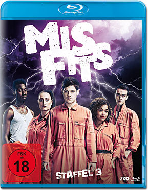 Misfits: Staffel 3 Box Blu-ray (2 Discs)