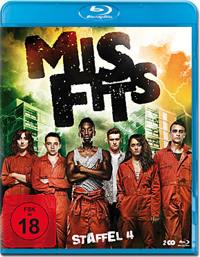 Misfits: Staffel 4 Box Blu-ray (2 Discs)
