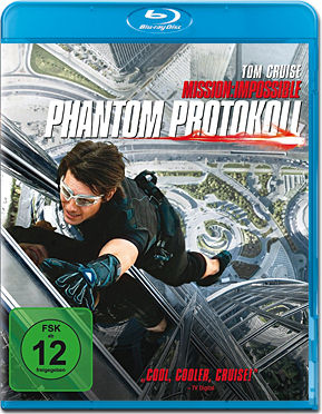 Mission: Impossible 4 - Phantom Protokoll Blu-ray