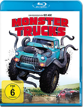 Monster Trucks Blu-ray