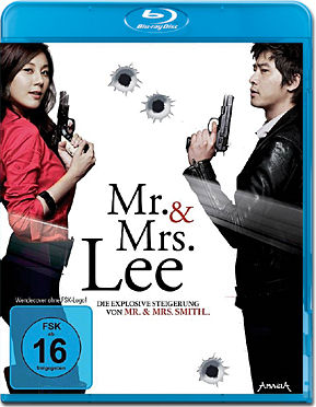 Mr. & Mrs. Lee Blu-ray