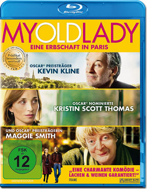 My Old Lady Blu-ray