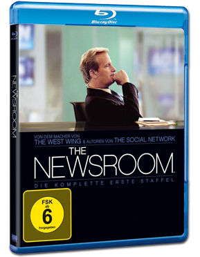 The Newsroom: Staffel 1 Box Blu-ray (4 Discs)
