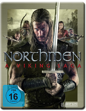 Northmen: A Viking Saga - Steelbook Edition Blu-ray (2 Discs)
