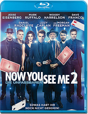 Now You See Me 2 - Die Unfassbaren 2 Blu-ray