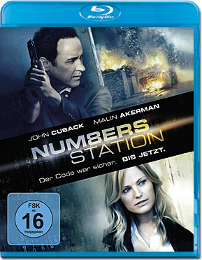Numbers Station Blu-ray