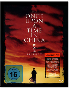 Once Upon a Time in China Trilogy Blu-ray (3 Discs)