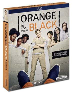 Orange Is the New Black: Staffel 4 Box Blu-ray (4 Discs)
