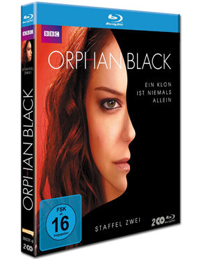 Orphan Black: Staffel 2 Blu-ray (2 Discs)