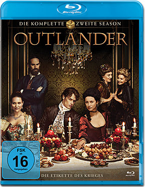 Outlander: Staffel 2 Blu-ray (6 Discs)