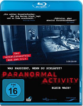 Paranormal Activity 1 Blu-ray