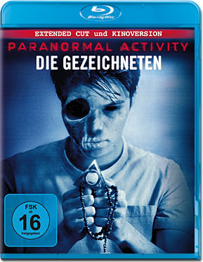 Paranormal Activity: Die Gezeichneten - Extended Cut Blu-ray
